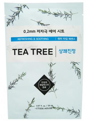 Маска c экстрактом чайного дерева ETUDE HOUSE 0.2 Therapy Air Mask Tea Tree: фото