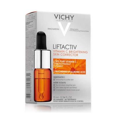 Антиоксидантный концентрат молодости кожи VICHY LiftActiv 10 мл: фото