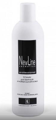 Тоник для жирной и нормальной кожи NEW LINE 300мл: фото