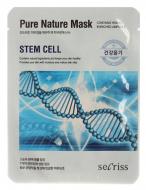 Маска тканевая со стволовыми клетками Anskin Secriss Pure Nature Mask Pack Stem cell 25мл: фото