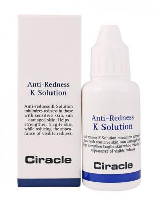 Тонер против покраснений с витамином К Ciracle Anti-Redness K Solution 30мл: фото