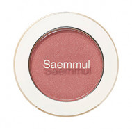 Тени для век мерцающие The Saem Saemmul Single Shadow Shimmer PK09 Rose Fence 2гр: фото