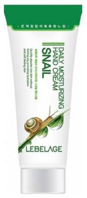 Крем для рук с муцином улитки LEBELAGE Daily Moisturizing Snail Hand Cream: фото