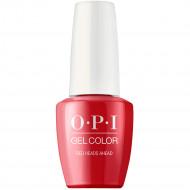 Гель лак для ногтей OPI GelColor Red Heads Ahead 15 мл: фото