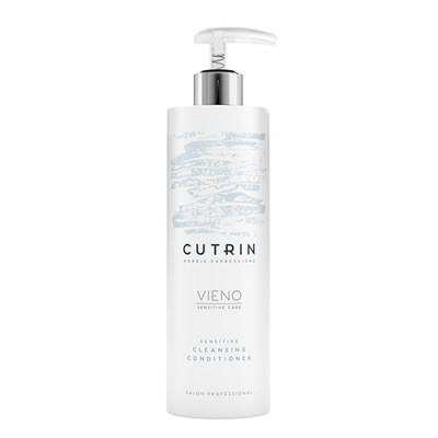 Кондиционер деликатный для нормальных и сухих волос без отдушки Cutrin, VIENO Sensitive Conditioner, 500 мл: фото