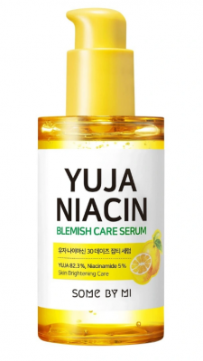 Сыворотка для лица с экстрактом юдзу SOME BY MI YUJA NIACIN BLEMISH CARE SERUM 50мл: фото