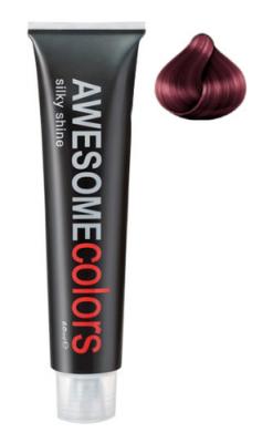 Краска для волос Awesome Colors Silky Shine 66/65 интенсивный темно-русый фиолетово-махагоновый 60мл: фото