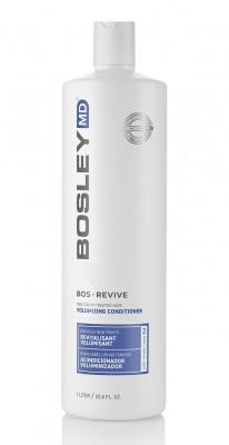 Кондиционер-активатор от выпадения и для стимуляции роста волос (для неокрашенных волос) Bosley BosRevive Volumizing Conditioner for Uncolored Hair 1000мл: фото