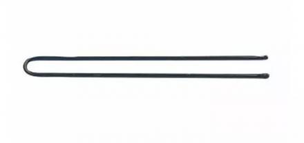 Шпильки прямые Sibel 65мм черные 50шт: фото