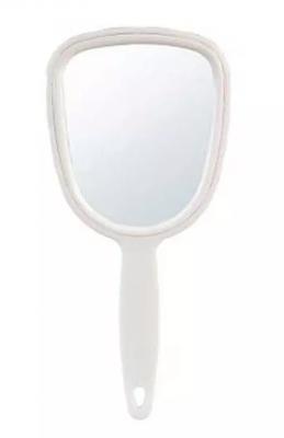 Косметическое зеркало с ручкой Sibel 7,5*16см: фото