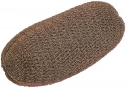 Подкладка для вечерних причёсок 13см Sibel коричневая: фото