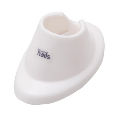 Подставка под флакон лака для ногтей Sibel белая: фото