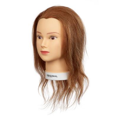 Голова учебная Sibel (натуральные волосы 40см): фото