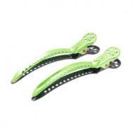 Зажимы для волос Y.S.PARK Chignon Clip green зеленые 2шт: фото