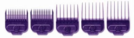Комплект универсальных насадок для машинок для стрижки волос на магнитах Andis 5шт: фото