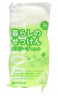 Мыло туалетное на основе натуральных компонентов MIYOSHI Additive Free Soap Bar 135г*3шт: фото